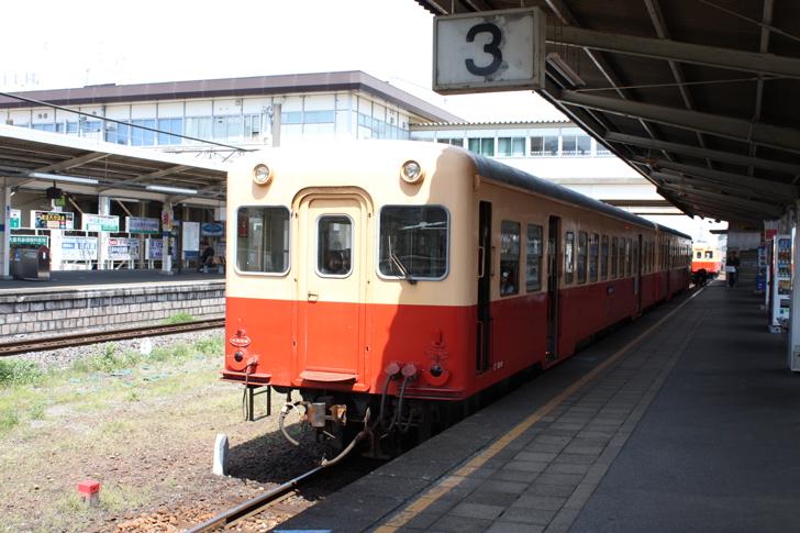 小湊鉄道の列車