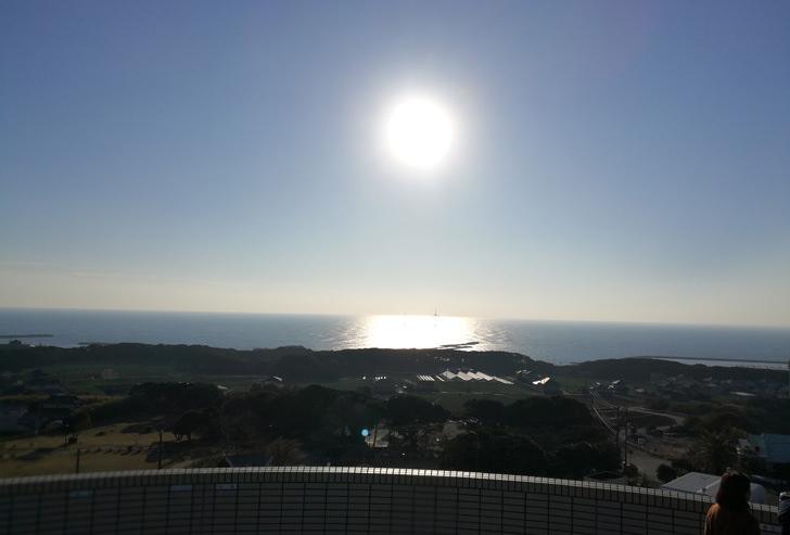 景色と太陽